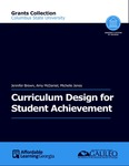 Curriculum Design for Student Achievement by Jennifer Brown, Amy McDaniel, and Michelle Jones